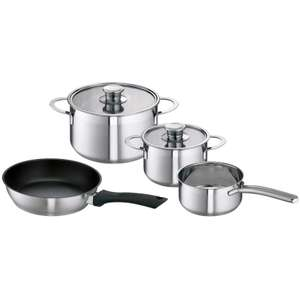 BOSCH HEZ390042 Four Piece Induction Hob Pan Set in Stainless Steel £50 @ Atlantic Electrics