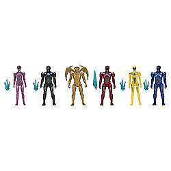 Tesco instore. Power Rangers 6 figure pack. £15 instore ,£60 online