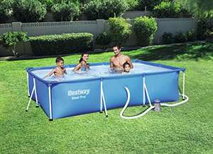 Bestway Steel Pro Pool Set, Blue, 300x201x66 cm - Amazon - £43.73