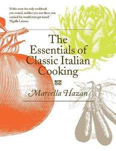 The Essentials of Classic Italian Cooking - Hardcover - £7.99 Prime