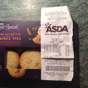 Asda Extra Special Mince Pies reduced to 5p!