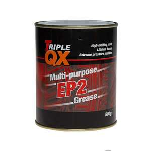 Triple QX Multipurpose Lithium Grease 500g - £2.94 @ Euro Car Parts (C&C)