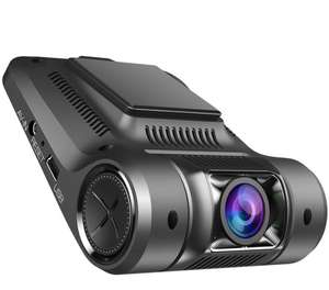 "Vikcam V168 Dash Cam, Dashboard Car Camera Recorder HD 1080P with 2.45"" Screen, Sony Senor, 170 °Wide Angle Lens Car DVR Built-In WiFi, G-Sensor, WDR, Loop Recording and Superior Night Vision - £37.99 - Sold by Vikcam-UK / Fulfilled by Amazon"