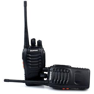 2x Baofeng Walkie Talkie Long Range 2 way Radio UHF 400-470MHZ £16.99 delivered @ techdeals eBay