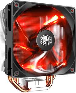 Cooler Master Hyper 212 Red LED CPU Cooler with PWM Fan - Collect £14.99 Scan