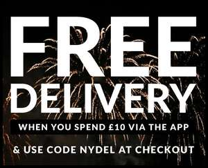 Free Delivery When Using Sports Direct APP ONLY. Minimum Spend £10.00. Code NYDEL