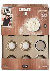 "Paul Hollywood by KitchenCraft 12-Hole Non-Stick Mini Muffin Tin with Loose Bases, 36 x 27 cm (14"" x 10.5"") £11.50 @ Amazon (free delivery Prime or +£4.75 non prime) and John Lewis"