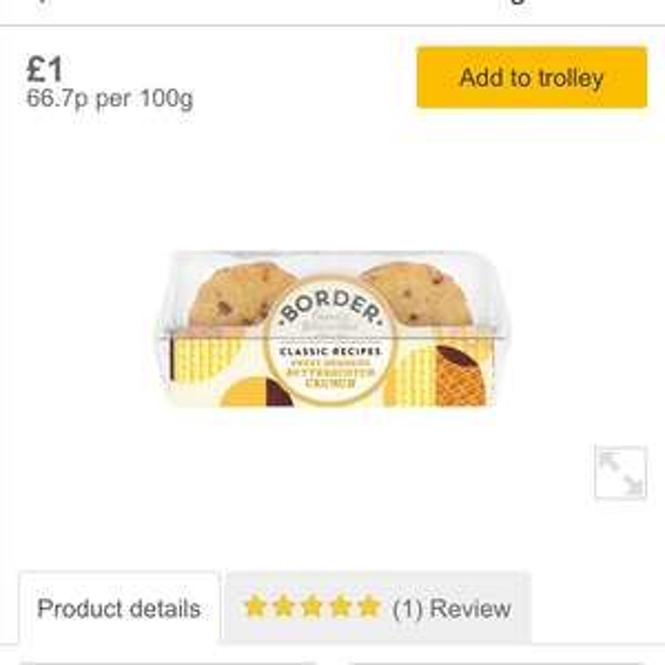 Border biscuits - £1 @ Morrisons