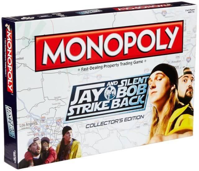 Jay and Silent Bob Strike Back Monopoly - £9.99 - Zavvi
