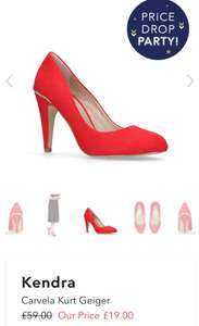 Kurt Geiger shoes 60% off other brands at  Shoeaholics