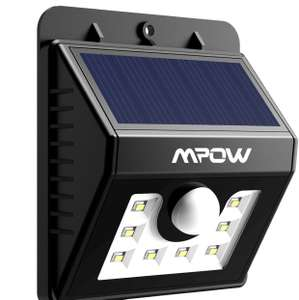 Mpow Solar Lights Motion Sensor Security Lights 3-in-1 Waterproof Solar Powered Lights - £10.99 (Prime) £14.98 (Non Prime) @ Sold by longtop and Fulfilled by Amazon (Lightning Deal)
