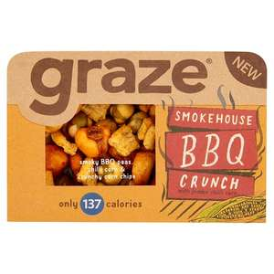Graze Bbq Crunch Snack  nom nom Was £1.19 Now 59p @ Tesco