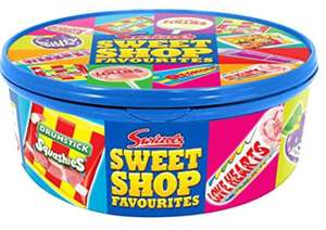 Swizzles Sweet Shop Favourites Tub, 750g / Haribo tubs £2.69 @ Co op in store