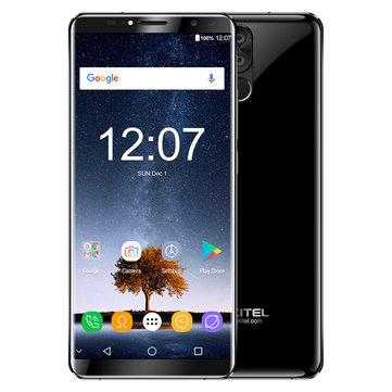Oukitel K6 6.0 inch Face ID 6300mAh 5V/3A 6GB RAM 64GB ROM MT6763 Octa Core 4G Smartphone - £151.96 @ BangGood