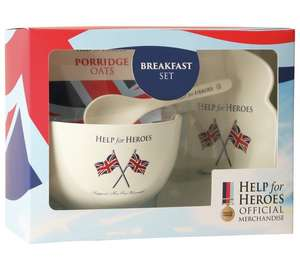 Help for Heroes Breakfast Set £3.74 - at least 60p goes to help for heroes + other foodie gifts all under £5 @ Argos