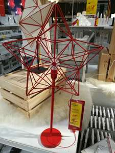 Star shaped table lamp now £5 in store at Ikea (plus extra 10% off for ikea family members)