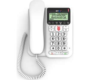 BT Corded Decor 2600 Phone, with Answering Machine and Call Guardian £23 @ Currys