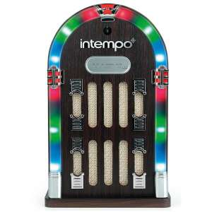 Intempo EE1269STK Mini Jukebox Style Speaker with Bluetooth and LED Lights now £26.09 delivered w/code at IWOOT