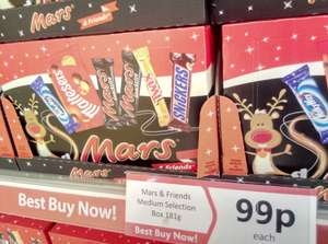 Mars & Friends Medium Selection Box 181g only 99p instore at Heron