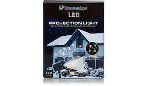 Snowflake Projection Motion Light £5 @ Asda instore