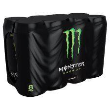 8 cans of monster energy for £6 @ tesco