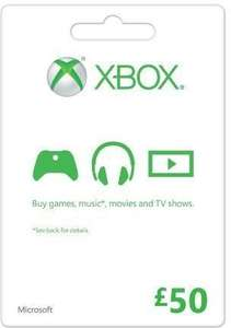 £50 Xbox live credit for £46.99 @ CD KEYS