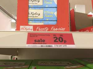 Mr Kipling 8 Frosty Fancies 20p @ Sainsbury's - Coventry Courthouse Green
