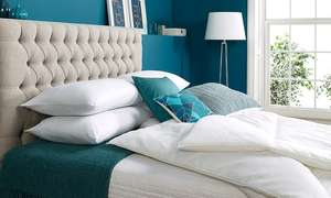 John Cotton Relax Pillow / Duvet Sets @ Groupon  - Relax Duvet and Four-Pillow Set £23.99 / £25.98 delivered