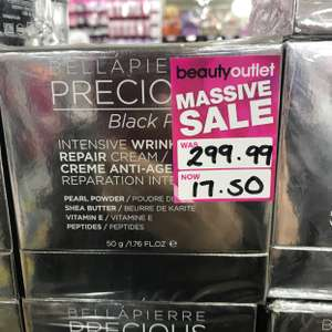 Bellapierre precious black pearls intensive anti age cream £17.50 @ Beauty outlet instore  - Junction 32