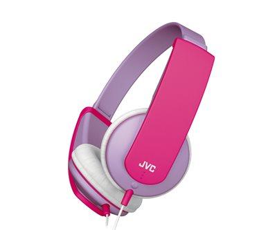 ARGOS - JVC Tinyphones Kids Headphones - Lilac/Pink £12.99
