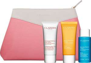 Clarins bodycare essentials gift set £17.91 @ Escentual