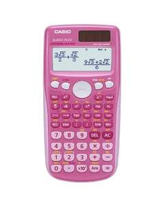 Casio FX-85GTPLUS Scientific Calculator £3.23 @ Amazon ( add on item) Pink