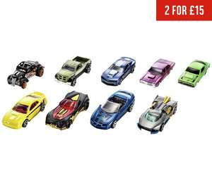 Hot Wheels Cars - 2x9 Pack Assortment for £15 @ Argos