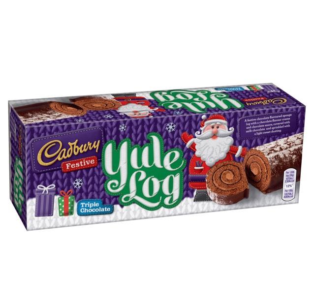 Cadbury Yule Log Triple Chocolate 320g @ Sainsburys £0.20 (instore)