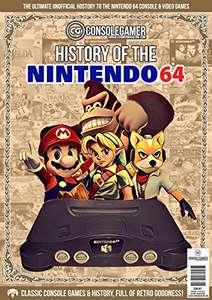 History of The Nintendo 64: Ultimate Guide to the N64's Games & Hardware. (Console Gamer Magazine Book 1) - free kindle ebook @ amazon.co.uk