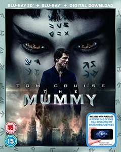 The Mummy 3D 2D + Download Tom Cruise Amazon Prime £7 / £8.99 delivered