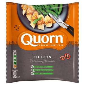 Quorn  fillets, chicken pieces, mince, nuggets, sausages, cocktail sausages, mini eggs and more  £1  @ Morrisons