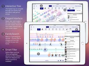 MobileFamilyTree 8 Half Price for Limited Time £8.99 @ ITunes