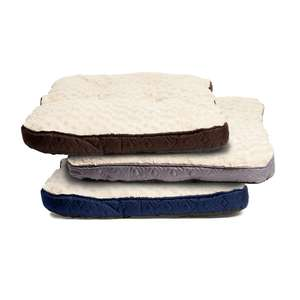 WILKO - Rosewood Dog Bed Quilted Mattress Assorted Colours £6.50