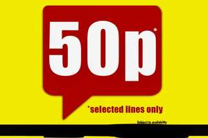 Many grocery items 50p at poundland including pataka curry sauces/heinz soups/batchelors cheese & brocoli pasta/super noodles (curry/chicken/BBQ) please see description for list