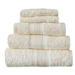Catherine Lansfield Home 100% Cotton Hand Towel, Cream £0.69 @ Amazon  (Add-on item)
