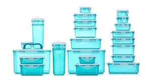 Lock & Lock 22 Piece Assorted Container Set - £26.95 at QVC (+£4.95 P&P). £5 off for new customers with code.