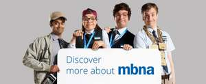MBNA 38-months 0% interest balance transfer credit card, 1.44% BT fee