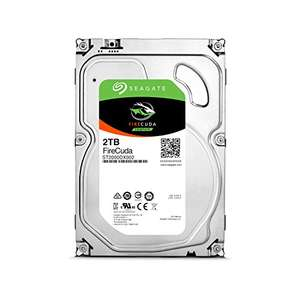 Seagate 2TB FireCuda 3.5 inch Internal SSHD Hard Drive + FREE Assassin's Creed Origins PC Download Code, £76.95 from Amazon