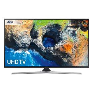 """Samsung UE40MU6120 40"""" HDR 4K Ultra HD Smart TV with Freeview HD in Black £329 at Hughes"""