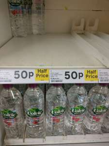 Volvic sugar free 1.5 ltr - various flavours 50p instore / online @ Tesco