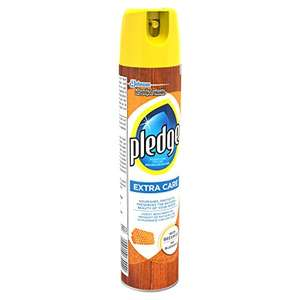 Pledge Extra Care Furniture Polish with Beeswax Aerosol Spray, 250 ml, Pack of 4 £1.60 add on at amazon so only 40p each