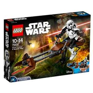 LEGO Star Wars Scout Trooper and Speeder Bike (Buildable Figures) - £35 with free C&C (+£3.99 delivery) Debenhams