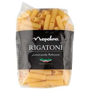 Napolina Rigatoni Pasta, 500 g, Pack of 12 £4.31 @ Amazon (Add on item)