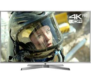 "Panasonic TX-50EX750B 50"" Smart 3D 4K Ultra HD HDR LED TV (2017 Model) £779 @ Currys with code TV70 (Possible £769 with price match at Richer Sounds)"